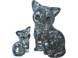 HCM Kinzel Crystal Puzzle Katzenpaar
