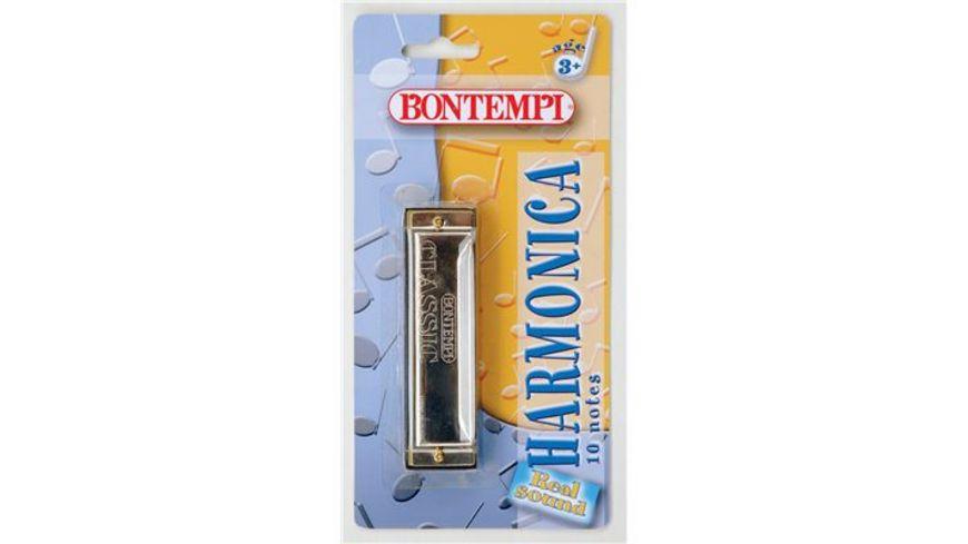 Bontempi Mundharmonika Metall 10 Toene