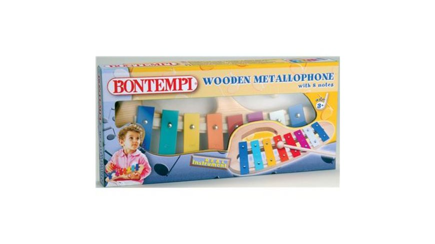 Bontempi Metallophone 8 Noten