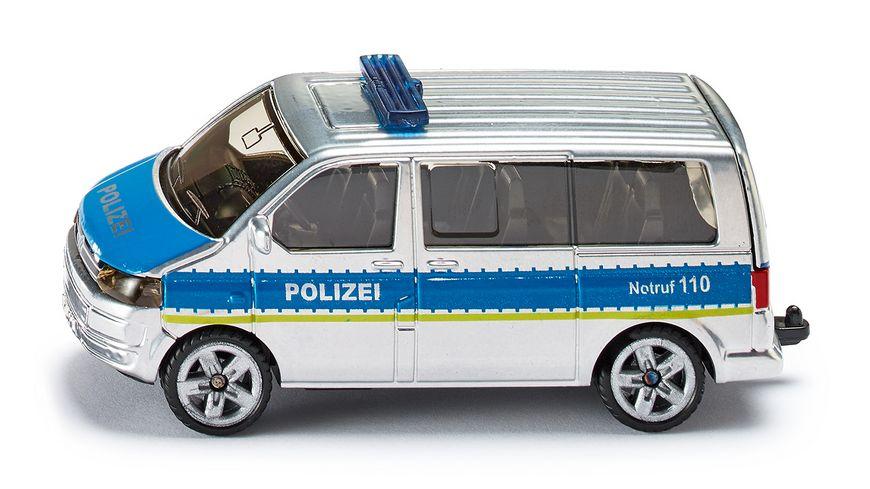 SIKU 1350 Super Polizei Mannschaftswagen