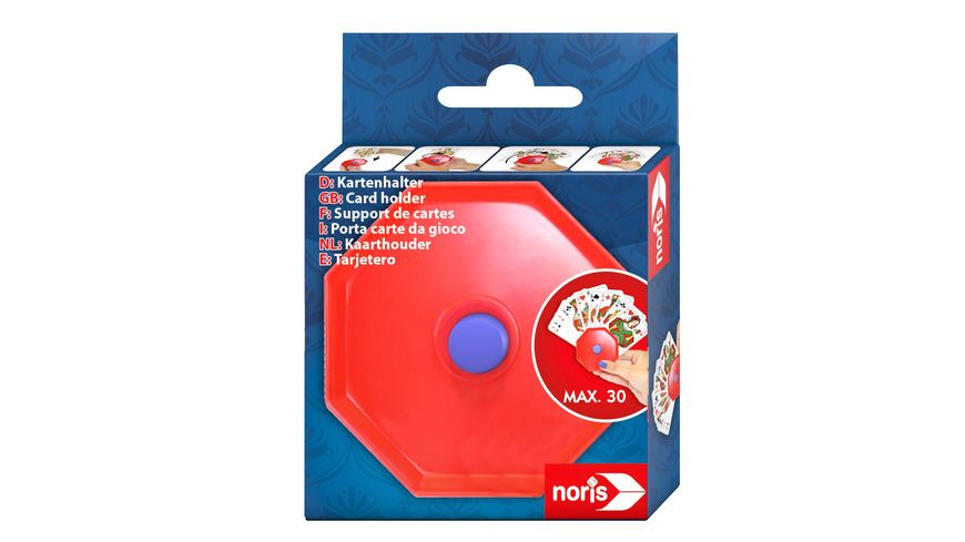 Noris Spiele Spielkartenhalter aus Kunststoff