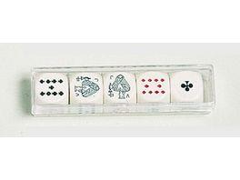 Piatnik Pokerwuerfel 16mm 5 St