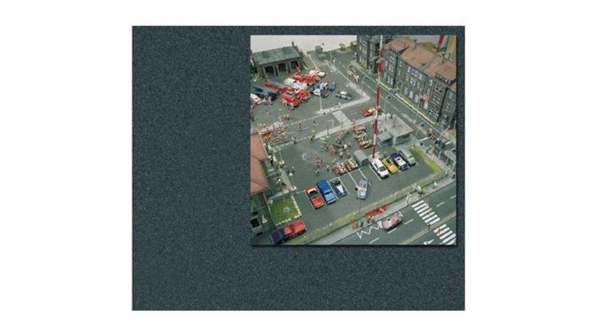Busch 7085 Modellbahnzubehoer Asphalt Platz