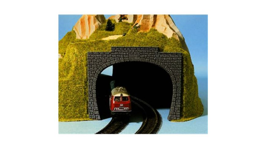 NOCH H0 60020 Tunnel Portal 2 gleisig