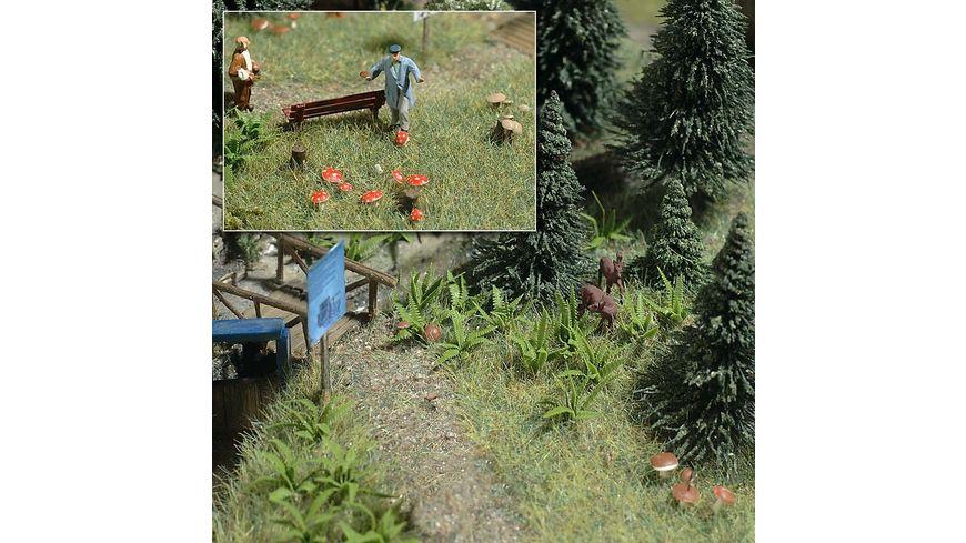 BUSCH 1203 H0 - Farne und Pilze