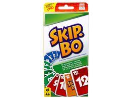 Mattel Games SKIP BO Kartenspiel Gesellschaftsspiel Familienspiel Kinderspiel