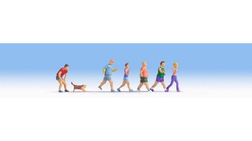 NOCH 15869 Jogger 6 Figuren 1 Tier