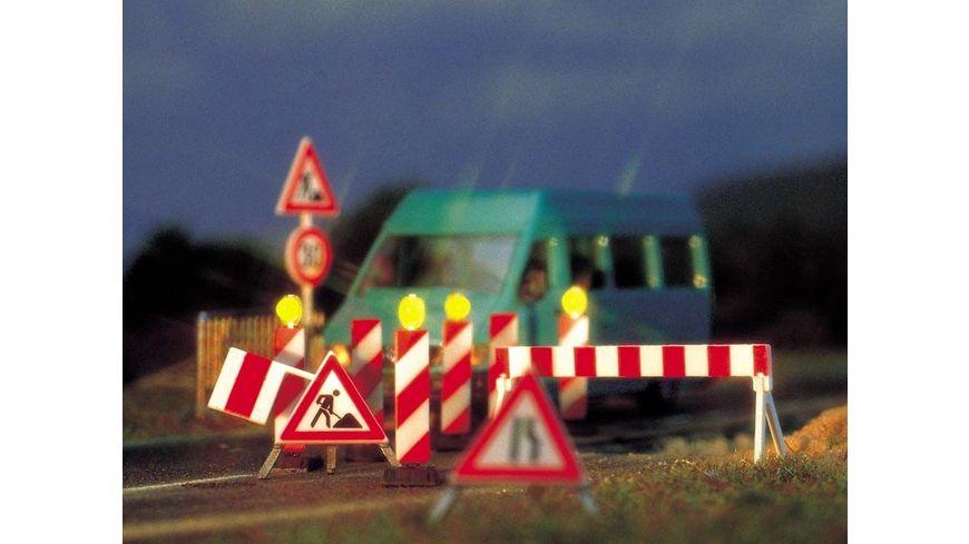 Busch Modellbahnzubehoer Baustellen Set