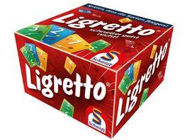 Schmidt Spiele Familienspiele Ligretto rot