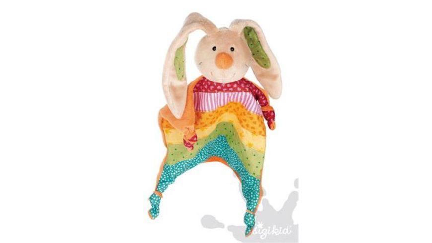 sigikid Rainbow Rabbit Schnuffeltuch