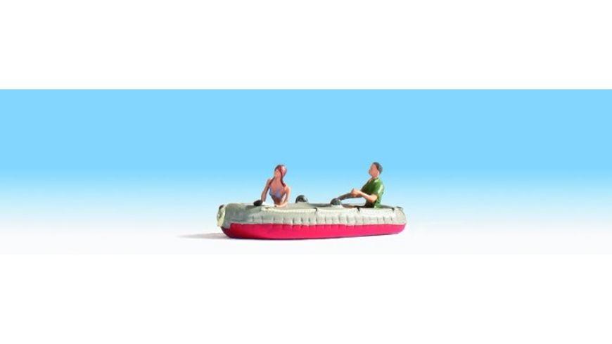 NOCH 16815 H0 Schlauchboot