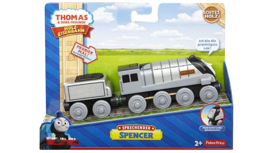 Fisher Price Thomas und seine Freunde Spencer sprechend Holz
