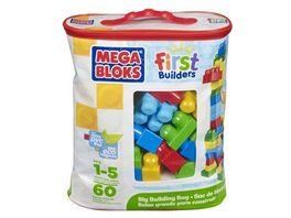 Fisher Price Mega Bloks First Builders Bausteinebeutel Medium 60 Teile Grundfarben