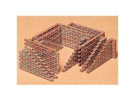 Tamiya 300035028 Militaer 1 35 Ziegelstein Mauerteile Dioramenbau 1 35