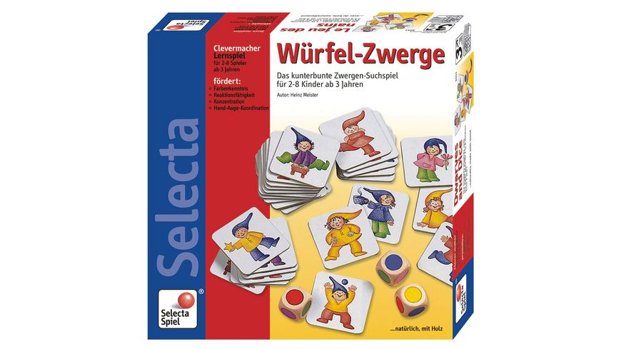 Selecta Wuerfel Zwerge