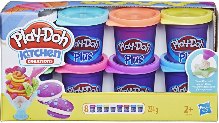 Hasbro Play Doh Plus 8er Pack