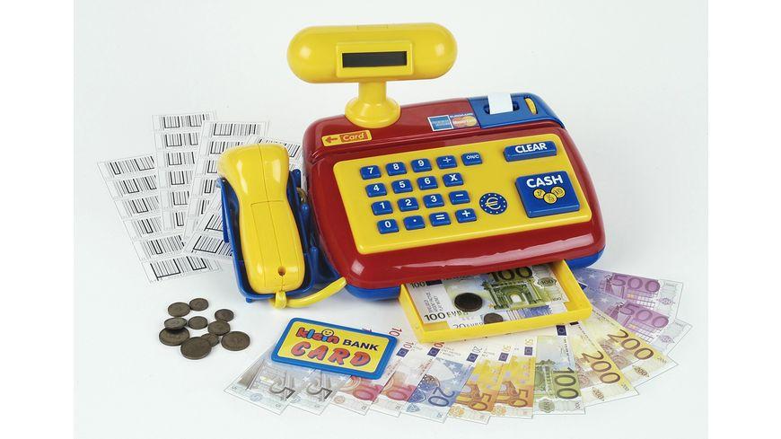 Klein Theo Elektronische Kasse mit Scanner