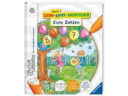 Ravensburger tiptoi Mein Lern Spiel Abenteuer Erste Zahlen