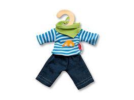 Heless Jeans mit Streifenshirt mini Gr 20 25 cm