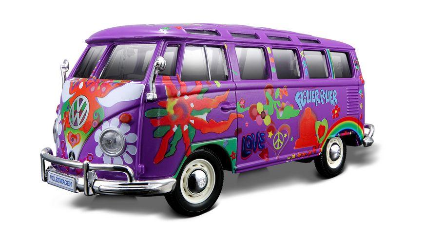Maisto 1 24 Hippie VW Samba sortiert