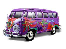 Maisto 1 24 Hippie Line VW Samba sortiert