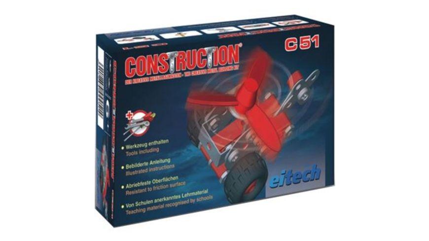 eitech Metallbaukasten C51 Starter Set Hubschrauber