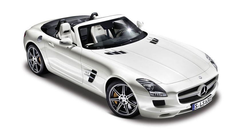 Maisto 1 24 28 Special Edition Mercedes SLS AMG Cabrio