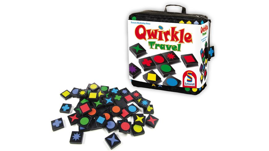 Schmidt Spiele Qwirkle Travel