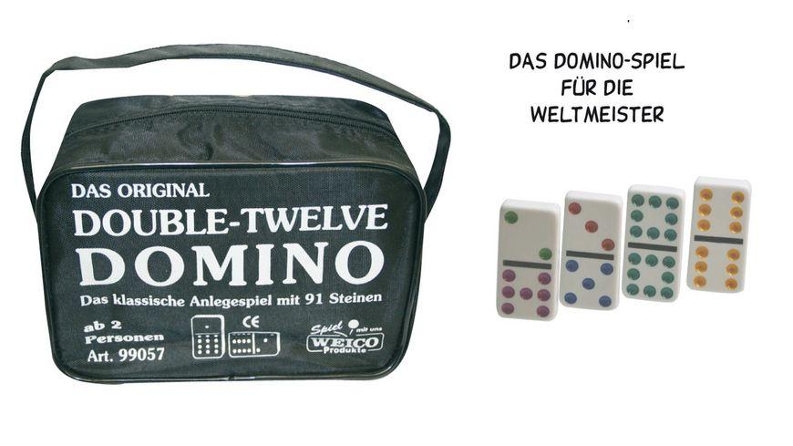 Weico Domino Double Twelve