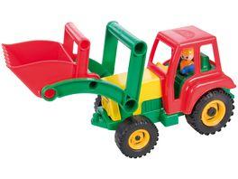 Lena Fahrzeuge Aktive 04161 Traktor mit Frontschaufel lose
