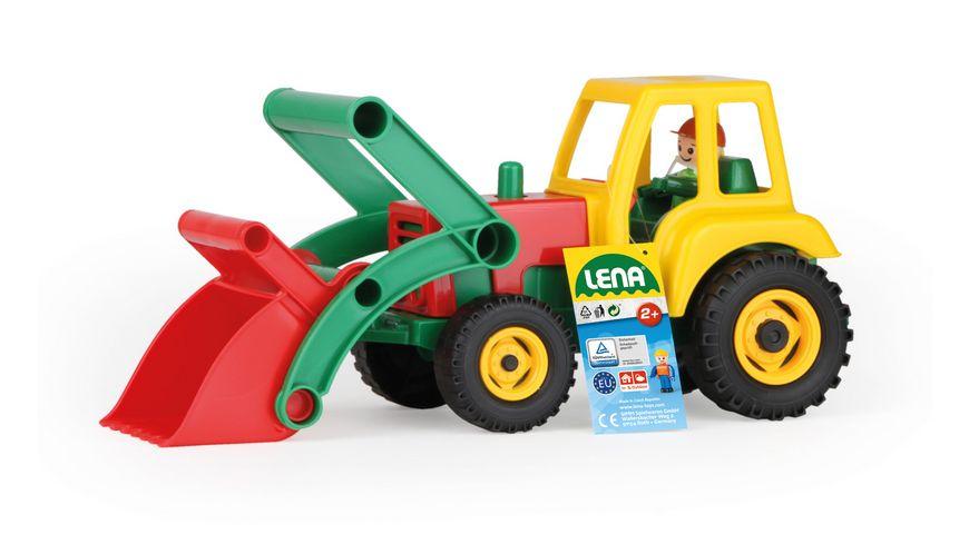 Lena - Aktive - Traktor mit Frontschaufel