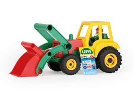Lena Aktive Traktor mit Frontschaufel