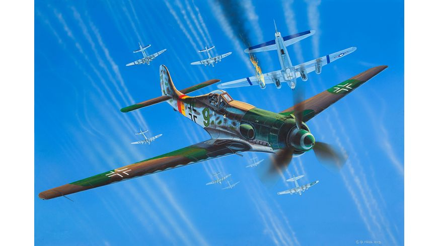 Revell 03981 Modellbau Flugzeuge Focke Wulf Ta152H