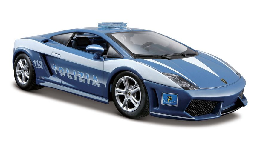 Maisto 1 24 28 Special Edition Lamborghini LP560 Polizia