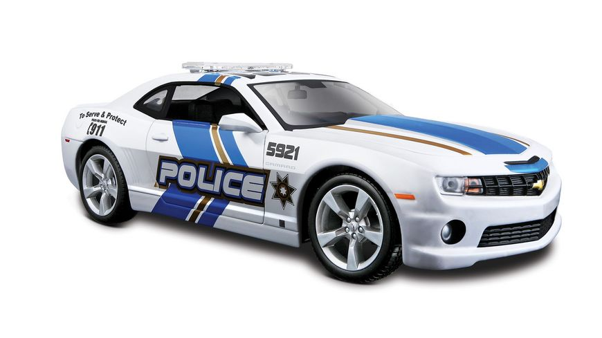 Maisto 1 24 28 Special Edition Chevrolet Camaro RS 10 Police