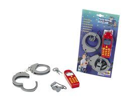Klein Theo Polizei Set auf Karte 3 teilig