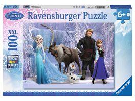 Ravensburger Puzzle Frozen Im Reich der Schneekoenigin 100 XXL Teile