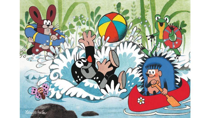 Ravensburger Puzzle Urlaub mit Maulwurf und seinen Freunden 2x24 Teile