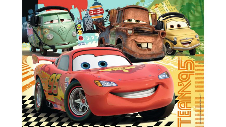 Ravensburger Puzzle Cars Neue Abenteuer 2x24 Teile