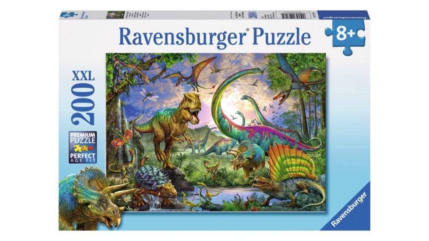 Ravensburger Puzzle Im Reich der Giganten 200 XXL Teile