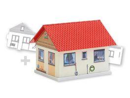 Faller 150190 H0 BASIC Einfamilienhaus inkl 1 Bemalvariante