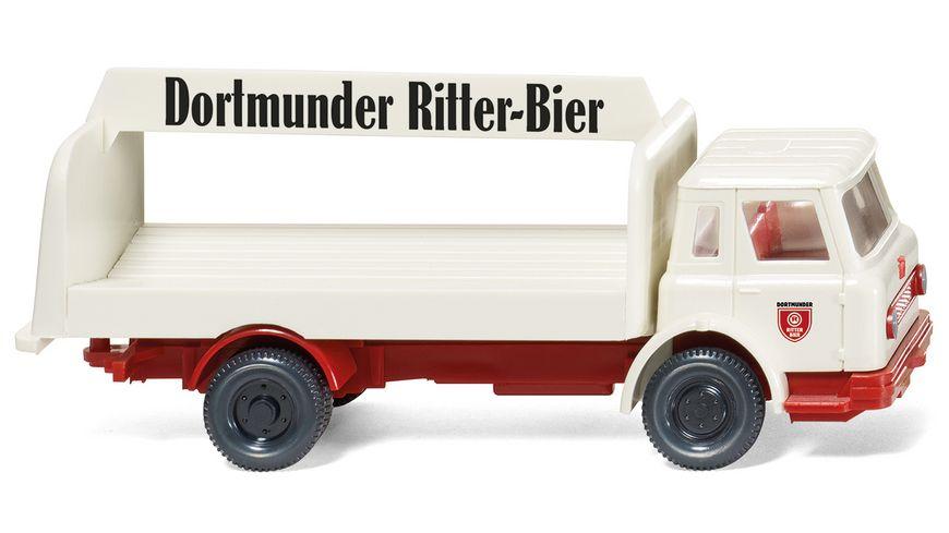 Wiking - Getränke-Lkw (Internat. Harvester) -  Ritter-Bier (1962-79)