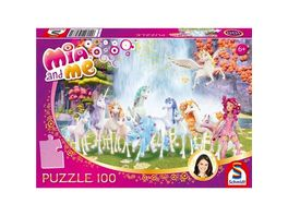 Schmidt Spiele Puzzle Mia and me Centopias Einhoerner 100 Teile