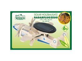 Weico 80147 Radaraufklaerer Holzbausatz