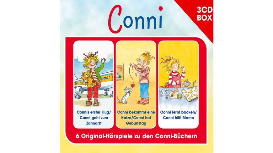 CONNI 3 CD HOeRSPIELBOX VOL 4