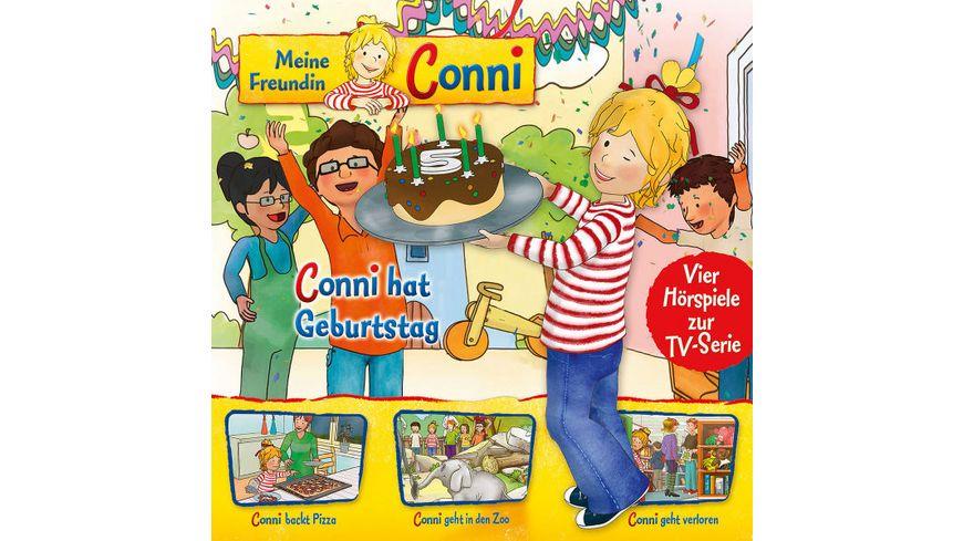 04 Conni Hat Geburtstag Pizza Zoo Geht Verloren