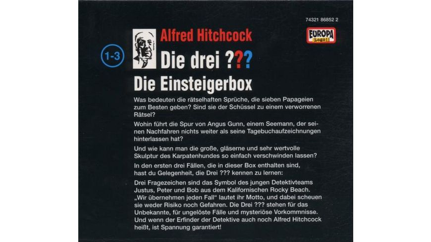 01 3er Box Folgen 01 03 Die Einsteigerbox