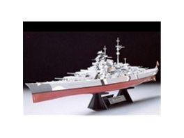 Tamiya Schiffe 1 350 Wwii Dt Kampfschiff Bismarck 300078013