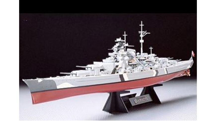 Tamiya 300078013 Schiffe 1 350 Wwii Dt Kampfschiff Bismarck
