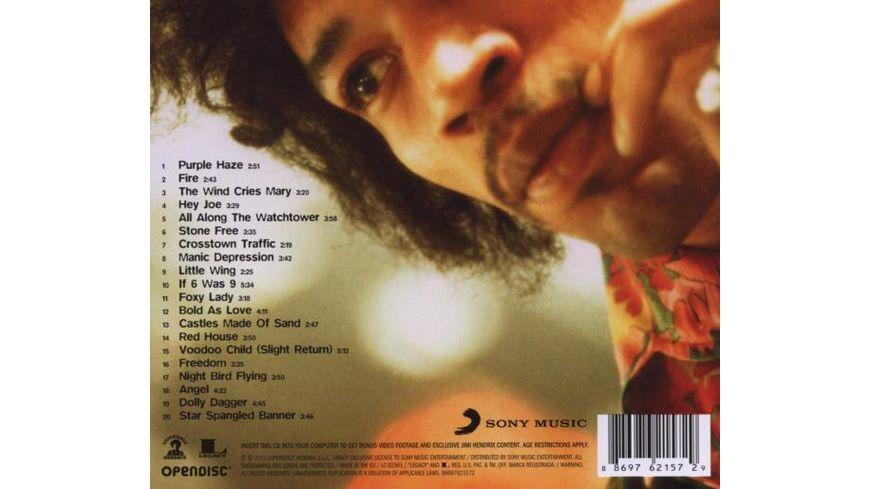 Experience Hendrix The Best Of Jimi Hendrix